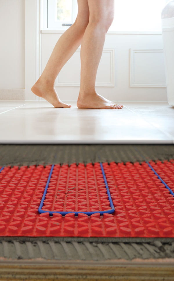 underfloor heating electric systems
