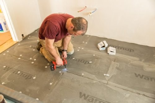 underfloor insulation boards installation