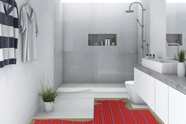 Underfloor Heating in Showers