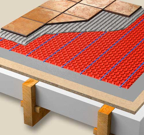 electric underfloor heating for installers