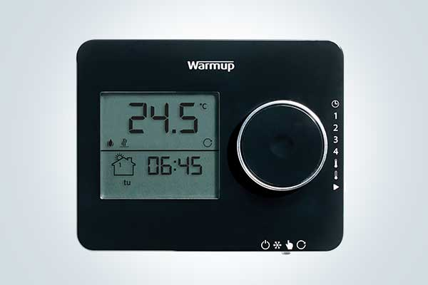 Tempo programmable thermostat for underfloor heating