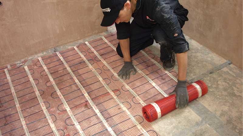 Underfloor Heating For Tiles Under Tile Heating Warmup Uk
