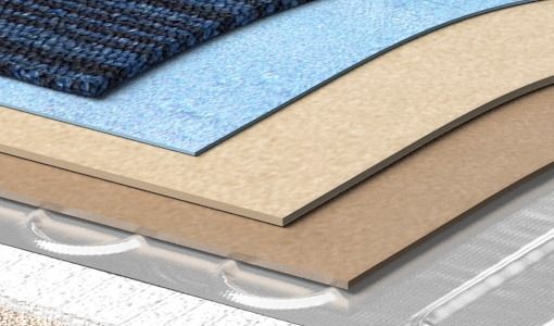 Dual Overlay Underfloor Heating