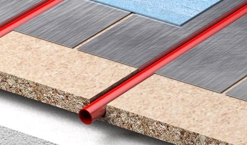 Econna Joisted System Underfloor Heating Between Joists
