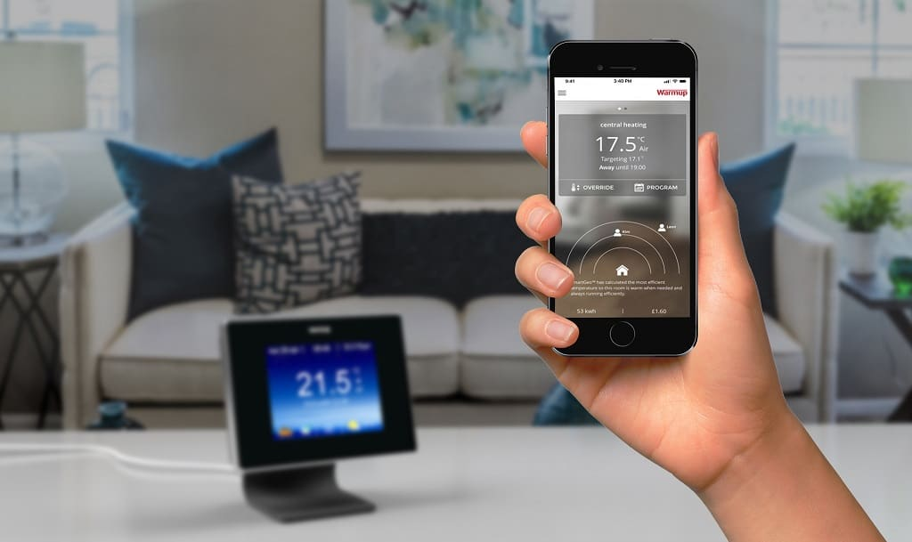 smart thermostat android ios app for smartphone mobile phone
