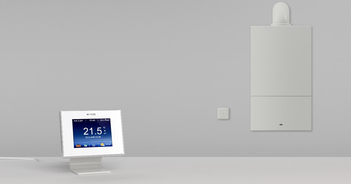 warmup 5ie smart thermostats for central heating
