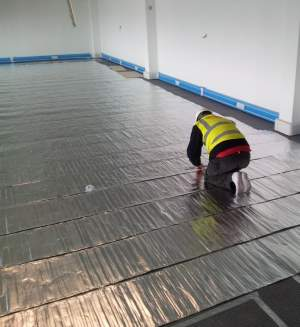 Foil Heater System Foil Underfloor Heating Warmup Uk