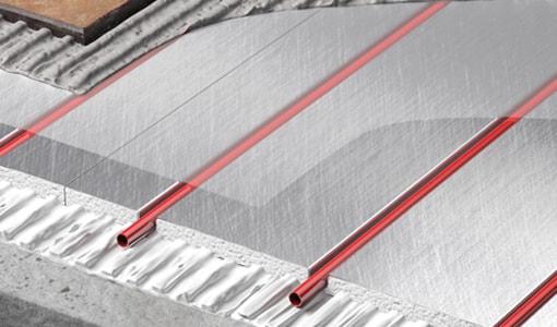 Total-16 low profile water underfloor heating