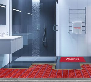 Underfloor Heating in Showers and Wet Rooms